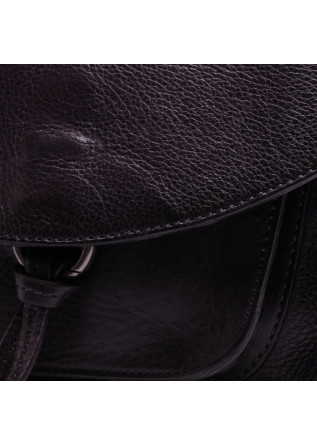 WOMEN'S BAGS SHOULDER BAG LEATHER DARK PURPLE REHARD