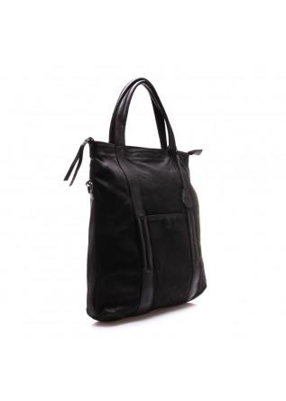 WOMEN'S BAGS BAG BLACK HAND WAXED REHARD