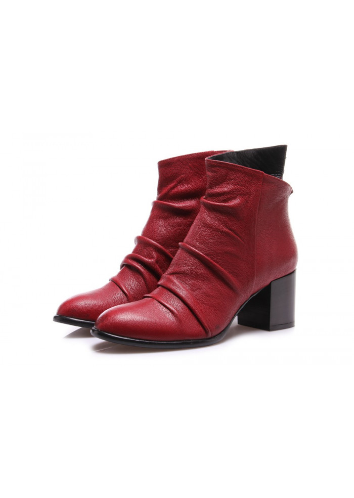 WOMEN'S SHOES BOOTS RED SALVADOR RIBES