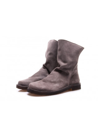WOMEN'S SHOES BOOTS GREY MANUFATTO TOSCANO VINCI