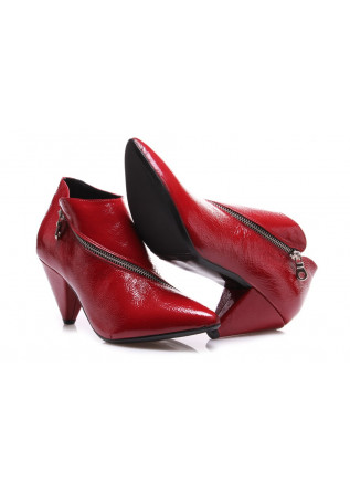 WOMEN'S SHOES BOOTS RED JUICE