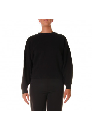 WOMEN'S CLOTHING SWEATSHIRTS BLACK 8PM