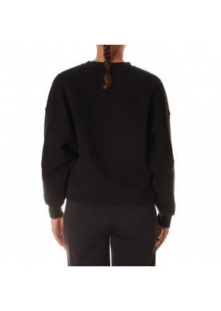 WOMEN'S CLOTHING SWEATSHIRTS BLACK 8PM