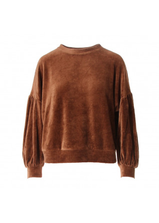 WOMEN'S CLOTHING SWEATSHIRTS BROWN 8PM