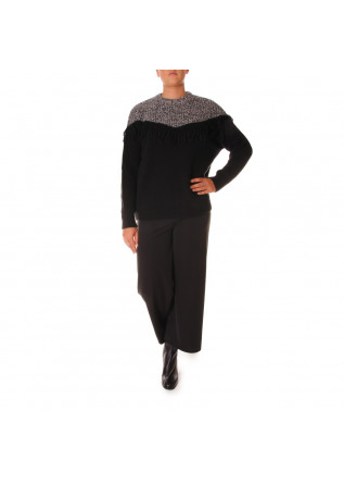 WOMEN'S CLOTHING KNITWEAR BLACK 8PM