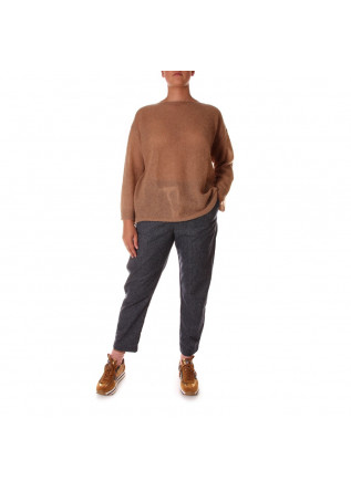 WOMEN'S CLOTHING KNITWEAR BROWN 8PM
