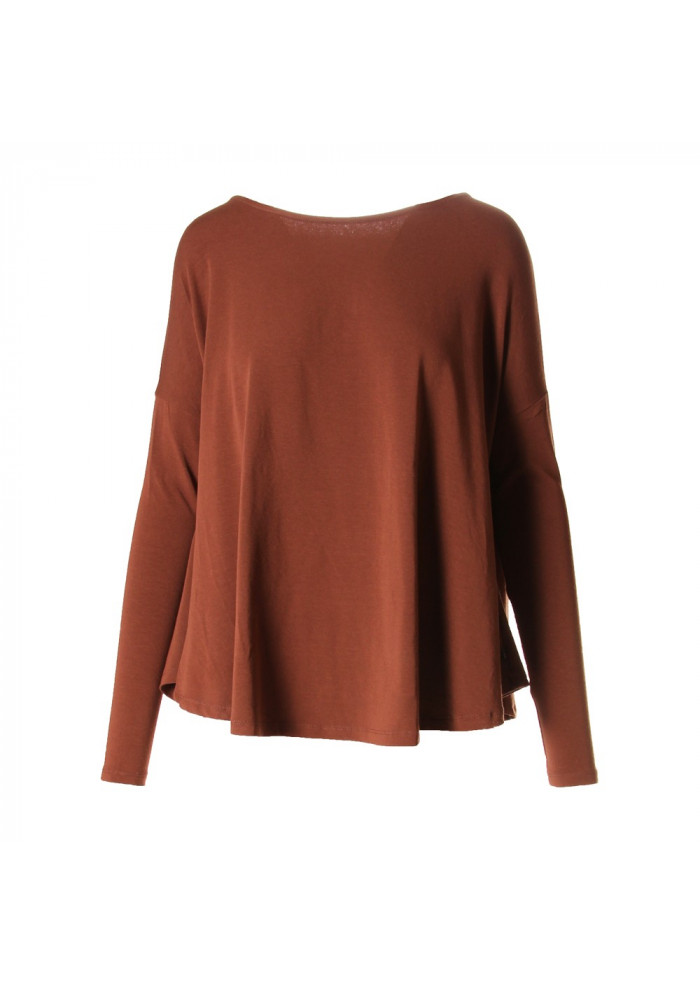 WOMEN'S CLOTHING KNITWEAR BROWN OTTOD'AME