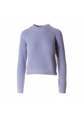 WOMEN'S CLOTHING KNITWEAR LIGHT BLUE JUCCA