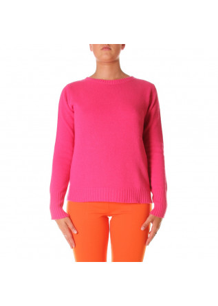 WOMEN'S CLOTHING KNITWEAR FUCHSIA JUCCA