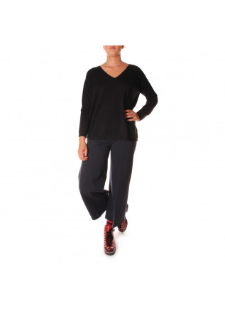 WOMEN'S CLOTHING KNITWEAR BLACK JUCCA