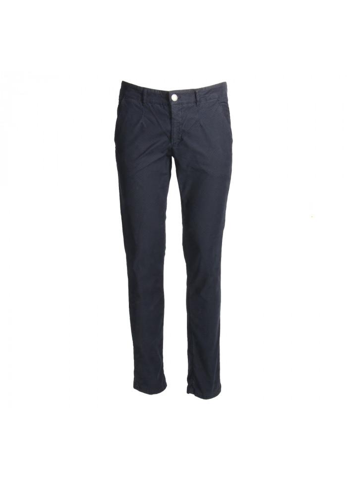 Trousers Manswear ALESSANDRO DELL'ACQUA Depht Blue