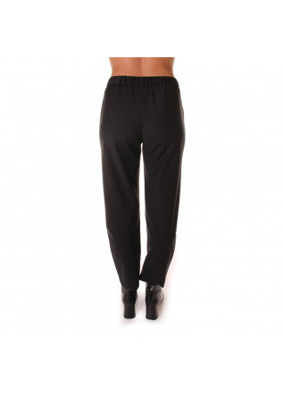 WOMEN'S CLOTHING TROUSERS BLACK SEMICOUTURE