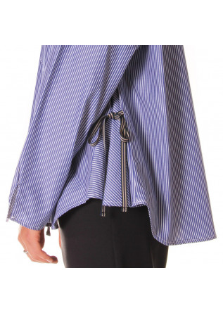 WOMEN'S CLOTHING SHIRT BLUE SEMICOUTURE