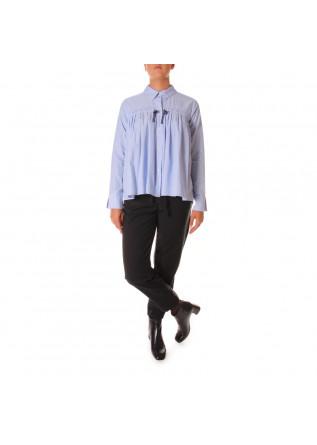 WOMEN'S CLOTHING SHIRT LIGHT BLUE SEMICOUTURE