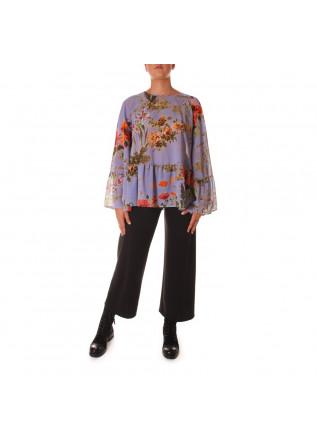 WOMEN'S CLOTHING SHIRT PURPLE SEMICOUTURE