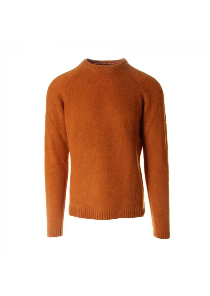 MEN'S CLOTHING KNITWEAR YELLOW ROBERTO COLLINA