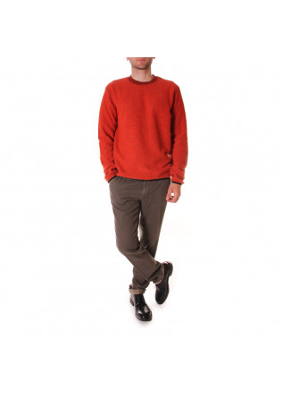 HERRENBEKLEIDUNG SWEATSHIRTS ORANGE DONDUP