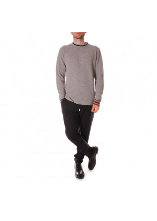 MEN'S CLOTHING KNITWEAR GREY WOOL & CO