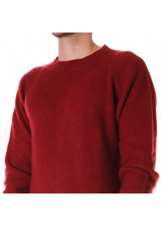MEN'S CLOTHING KNITWEAR RED WOOL & CO