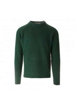 MEN'S CLOTHING KNITWEAR GREEN WOOL & CO