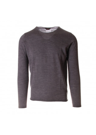 MEN'S CLOTHING KNITWEAR GREY HOSIO