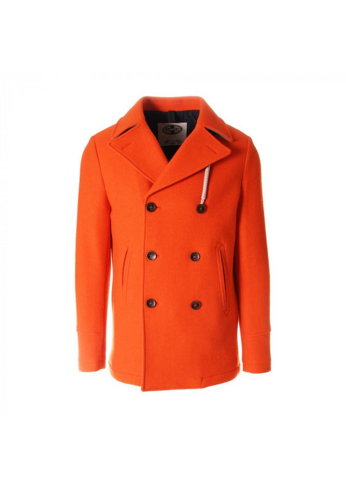 Abbigliamento Peacot Camplin Island Cappotti za S Arancione Uomo rq4PxwBr