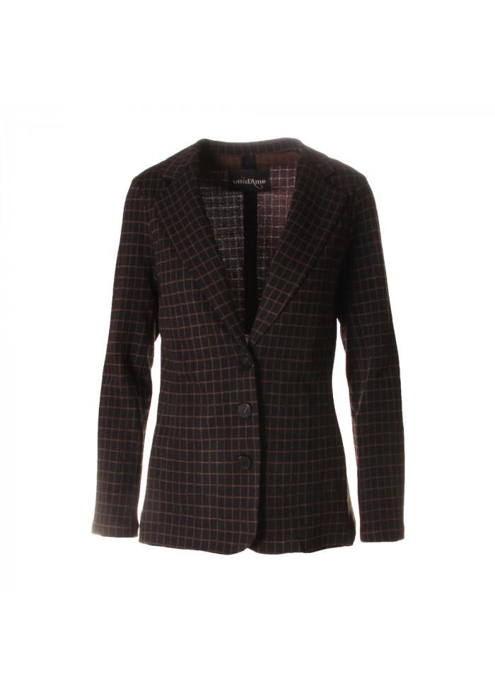 WOMEN'S CLOTHING JACKETS BLACK OTTOD'AME