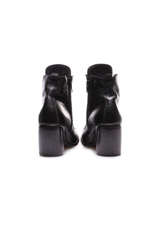 WOMEN'S SHOES HEEL BOOTS BLACK MOMA