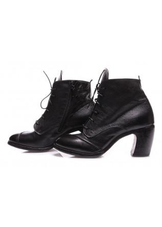WOMEN'S SHOES HEEL BOOTS BLACK MOMA