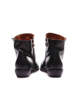 WOMEN'S SHOES HEEL BOOTS BLACK FIORENTINI + BAKER