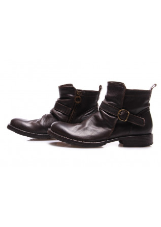 MEN'S SHOES ANKLE BOOTS LEATHER BROWN FIORENTINI + BAKER