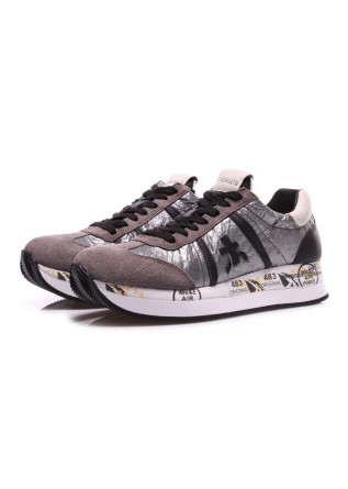 WOMEN'S SHOES SNEAKERS GREY/BLACK PREMIATA