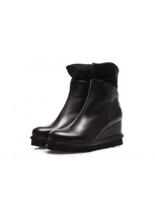 WOMEN'S SHOES ANKLE BOOTS BLACK PATRIZIA BONFANTI