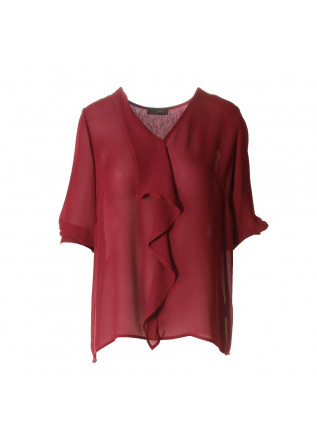 WOMEN'S CLOTHING SHIRT BORDEAUX RASPBERRY SOALLURE