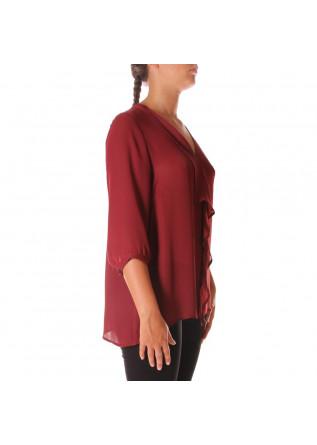 WOMEN'S CLOTHING SHIRT BORDEAUX RASPBERRY SOALLURE