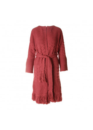 WOMEN'S CLOTHING KNITWEAR CARDIGAN ANTIQUE ROSE SOALLURE