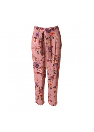 WOMEN'S CLOTHING HIGH WAIST TROUSERS PINK SOALLURE