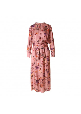 WOMEN'S CLOTHING LONG DRESS PINK SOALLURE