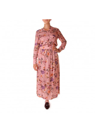 WOMEN'S CLOTHING LONG DRESS PINK SOALLURE