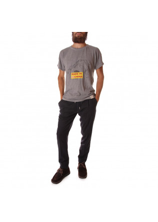 UNISEX CLOTHING T-SHIRT 'MADE IN VACHINA' PRINT GREY WRAD