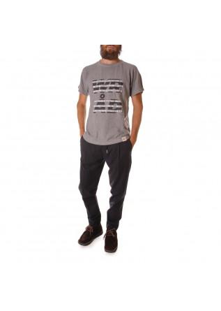 UNISEX CLOTHING T-SHIRT 'MANIFESTO' PRINT GREY WRAD