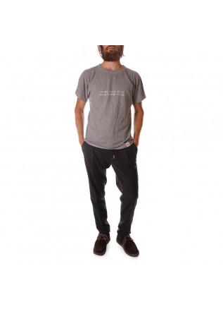 UNISEX CLOTHING T-SHIRT 'FUCK YOUS' PRINT GREY WRAD