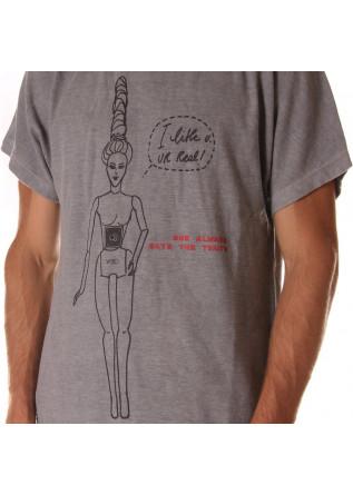 MEN'S CLOTHING T-SHIRTS GREY WRAD