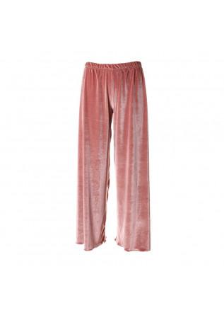WOMEN'S CLOTHING TROUSERS PINK AU PETIT BONHEUR