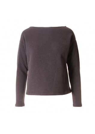 WOMEN'S CLOTHING SWEATSHIRT ORGANIC COTTON GREY BIONEUMA