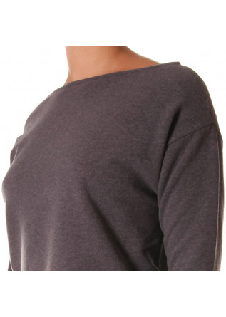 WOMEN'S CLOTHING SWEATSHIRTS GREY BIONEUMA