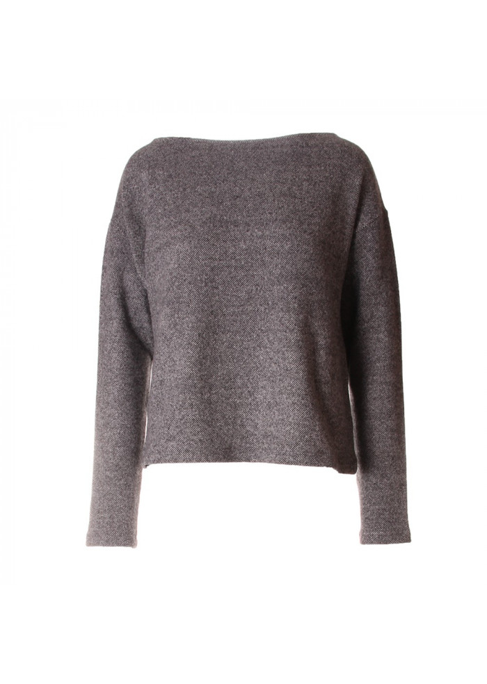 WOMEN'S CLOTHING KNITWEAR GREY SALT&PEPPER BIONEUMA