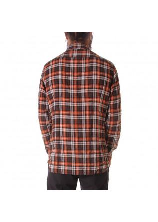 MEN'S CLOTHING SHIRT ORANGE TINTORIA MATTEI 954