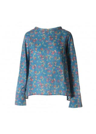 WOMEN'S CLOTHING SHIRT LIGHT BLUE AU PETIT BONHEUR