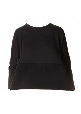 WOMEN'S CLOTHING SWEATSHIRTS BLACK AU PETIT BONHEUR